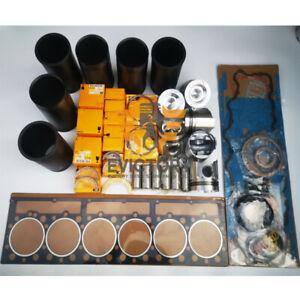 For Caterpillar 3306 Engine rebuild kit piston ring liner gasket bearing set