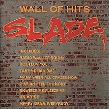 "SLADE ""WALL OF HITS"" CD NEUWARE!!!!!!!!!!!!!!!"