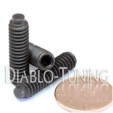 """1/4-20 x 1"""" - Qty 10 - Half Dog Point Socket SET / GRUB SCREWS - Alloy Steel 1/2"""