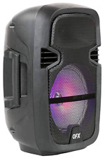 Bluetooth Portable Party Speaker with Microphone Remote Light Lights Handle