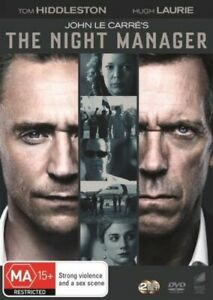 THE NIGHT MANAGER - Le Carre (Complete series) R4 -Tom Hiddleston /Hugh Laurie