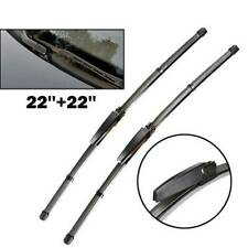 For Audi A4 S4 RS4 B6 B7 A6 C5 2003 04 Front Window Windshield Wiper Blades Set