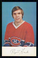 1977-78  MONTREAL CANADIENS POSTCARDS  REJEAN HOULE   INV  J9048