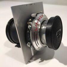 180mm F5.5 LINHOF SCHNEIDER KREUZNACH TELE-ARTON SYNCRO COMPUR FOR TECHNIKA