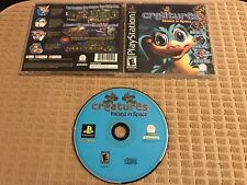 Creatures: Raised in Space (Sony PlayStation 1, 2004) CIB