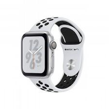 Apple Watch Nike+ Series 4 [GPS, inkl. Sportarmband platinum/schwarz] 40mm Alu S