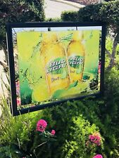 "Bud Light Lime Budweiser Beer Bar Pub Man Cave Mirror  ""New"" Fast Shipping"