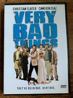 Molto Bad Things DVD 1998 Cervo Notte Nero Commedia Film Classico Regione 1