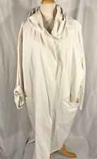 Heide Out Top Designer NWT  Germany Hooded Trench Organic coat Size S to L Beige