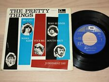 """THE PRETTY THINGS 4-TRACK 7"""" SINGLE EP - ROAD RUNNER / TE 465279 PRESS in VG+"""