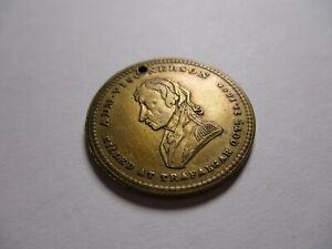 Antique Commemorative 1843 Admiral Nelson Trafalgar Square Counter Token Medal