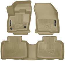Husky Liners 2016-2018 Lincoln MKX Front & Rear Floor Mat Set Tan 99313