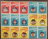 2020 Topps Heritage Minor League Scratch Off lot of 29!