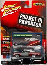 JOHNNY LIGHTNING 1969 CHEVY IMPALA CONVERTIBLE PROJECT STREET FREAKS FREE SHIP