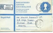 GB - REGISTERED ENVELOPE - SIZE G - £1.15.5p - BRIDGEND - 400835