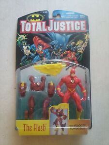 Total Justice - The Flash with Velocity Power Suit 5 Inch Tall Action Figure NEW
