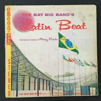 Bay Big Band's Latin Beat Conducted by Francis Bay 1958 Jazz LP Vinyl Record