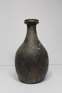 Antique Korean Goryeo Dynasty Stoneware Vase Jar Pottery