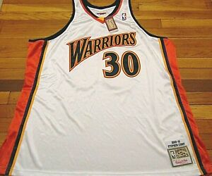 MITCHELL & NESS NBA GOLDEN STATE WARRIORS STEPH CURRY 09-10 AUTHENTIC JERSEY 56