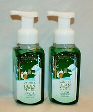 Bath & Body Works Vanilla Bean Noel Gentle Foaming Hand Soap X 2