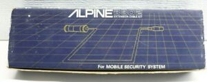 Old School NOS Alpine 8302 8ft 8 Pin M-F EXTENSION CABLE Car Security Alarm Amp