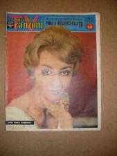 G138-TV SORRISI E CANZONI-22 MAGGIO 1960-ANNA MARIA GAMBINERI-