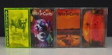 Lot 4 Alice In Chains Cassette Tapes Facelift • Dirt • Jar of Flies