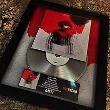 Rihanna ANTI Million Record Sales Music Award Album Disc LP Vinyl
