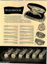 1949 ADVERT 2 Sided Wolbrook Wrist Watch