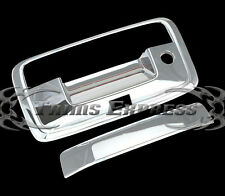 2014-2018 Chevy Silverado/Sierra Chrome Tailgate Handle Covers w/Key+Camera hole