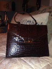 Genuine Ladies Alligator Handbag Or Mini Briefcase - EXCELLENT condition