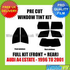 AUDI A4 ESTATE 1996-2001 FULL PRE CUT WINDOW TINT KIT