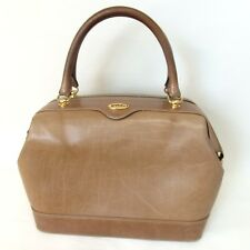 Authentic GUCCI Old Gucci Boston bag Leather Ladies[Used]