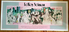 """LeRoy Neiman Lithograph """"Polo Lounge""""  Made in 1989"""