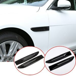For Jaguar XE F-PACE X760 X761 2016-2021 ABS Side Fender Air Vent Outlet Cover