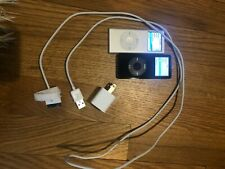 Ipod Nano Lot of 2 1G and 4G bundle with one charger