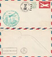 US 1959 AM 2 FIRST JET FLIGHT FLOWN COVER SAINT LOUIS MO TO SAN FRANCISCO CALIF
