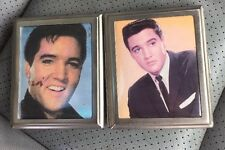 Elvis Presley Lot Of 2 Stainless Steel Cigarette Holders Vintage Collectible