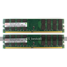 New 8GB 2X4GB DDR2-800MHz PC2-6400 240PIN PC6400 Fit AMD CPU Desktop Hynix Chips