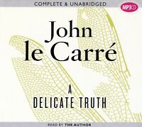 A Delicate Truth - by John Le Carre - MP3CD - Audiobook - Ex-Library - Disc only