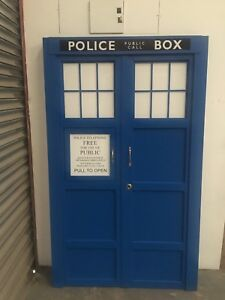 Tardis Front Panel Not A Time Machine but Great For A Time lord Door Surround
