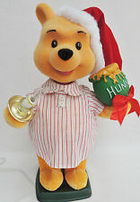 "22"" Disney Telco Animated Lights Winnie The Pooh Motionette Xmas Display Figure"