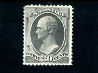 USAstamps Unused FVF US 1873 Hamilton Continental Bank Printing Scott 165 OG MNH