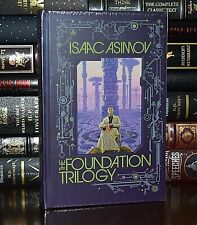 New Foundation Trilogy by Isaac Asimov Sealed Leather Bound Collectible