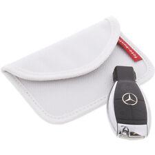 Strahlenschutz Tasche für Keyless Schlüssel Entry Open Go Diebstahl Schutz Weiß
