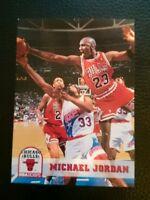 1993 94 HOOPS #28 MICHAEL JORDAN CHICAGO BULLS HOF MINT