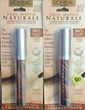 L'Oreal Bare Naturale Mascara - 810 Black Brown (Pack of 2)