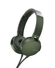 NEW SONY headphone deep bass model MDR-XB550AP green MDR-XB550AP G from japan