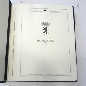   Sammlung Berlin postfrisch ** 1960-1990 im Leuchtturm-Binder auf Vordrucke