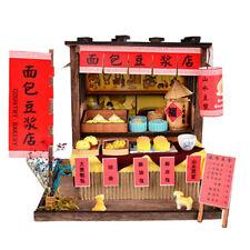 Miniature 1:24 DIY Dollhouse Furniture, 3D Wooden Vintage Breakfast Bar